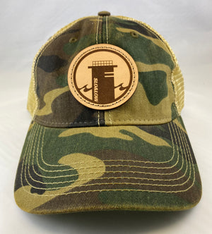Tower One Trucker (Relaxed Fit) - Camo / Khaki
