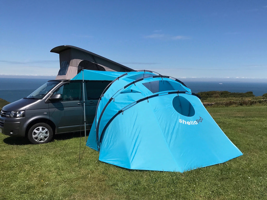 Pre- loved SheltaPod BLUE (without inner tent)