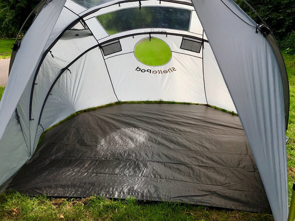 Custom shaped Rainfly Groundsheet for use when not using the inner tent.