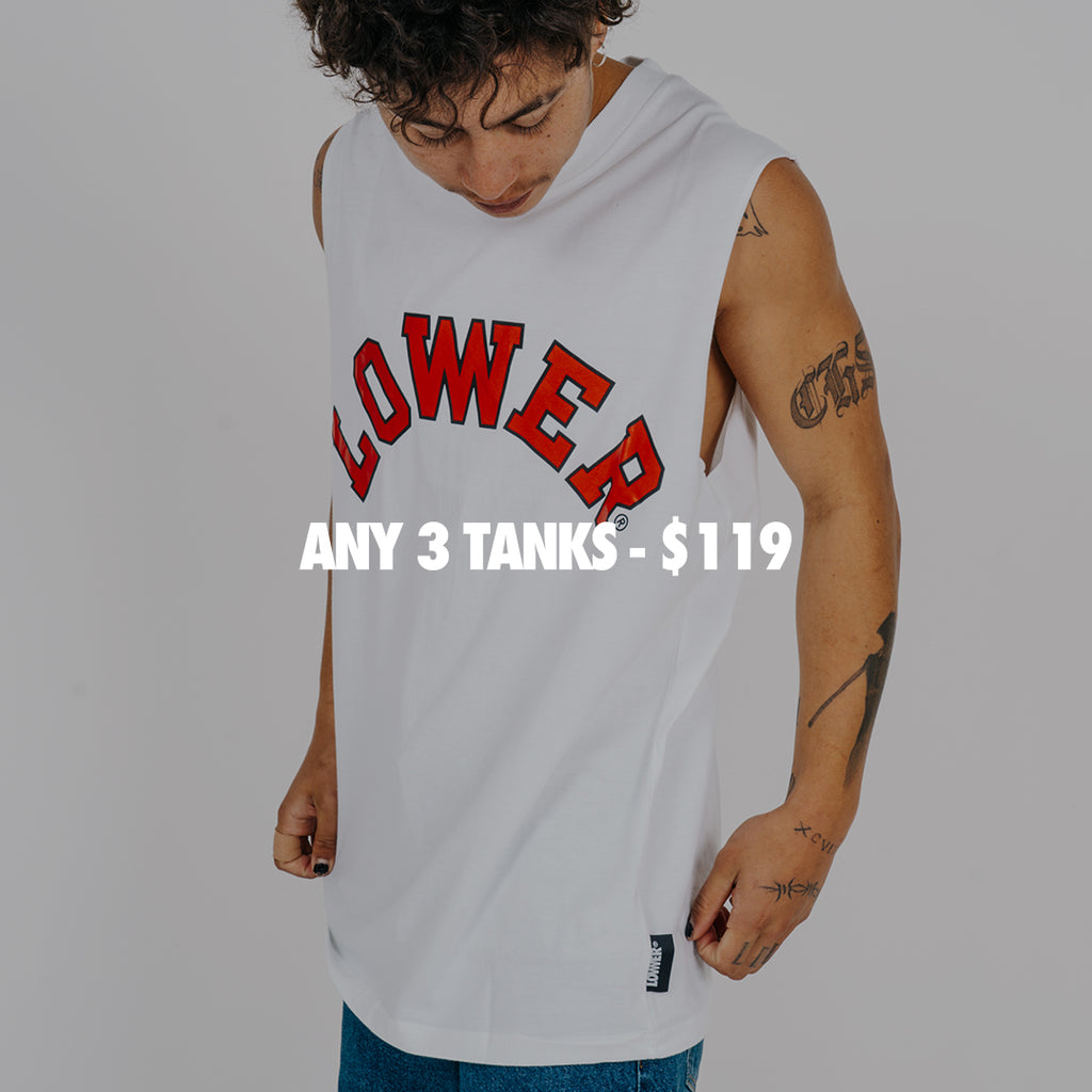 Any 3 Tanks For $119