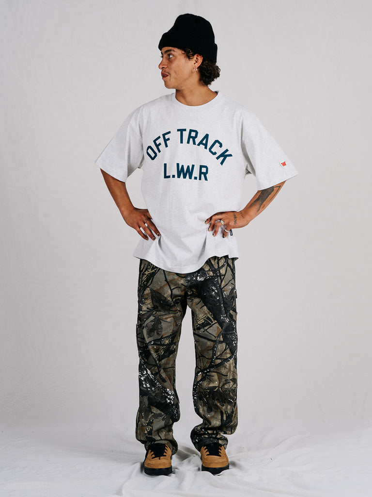 Off Track - '94 Tee in silver marle
