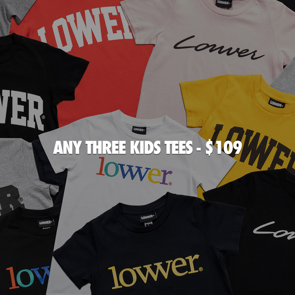 Any Three Kids Tees For $109
