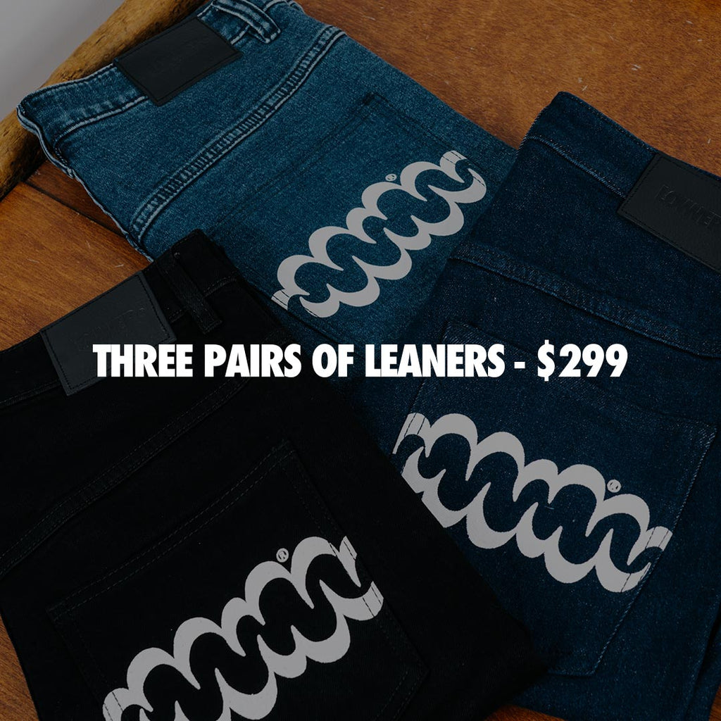 Lower Leaner Jeans - Three For $299