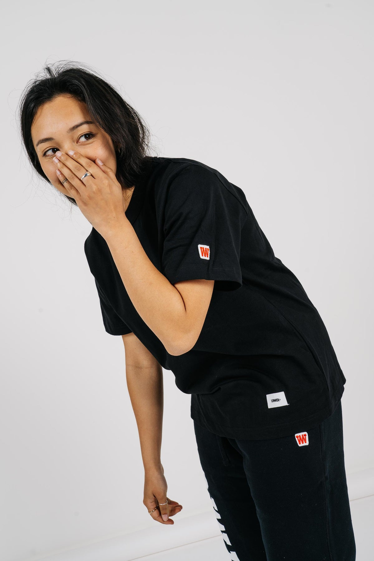 Womens Channel Tee - Black