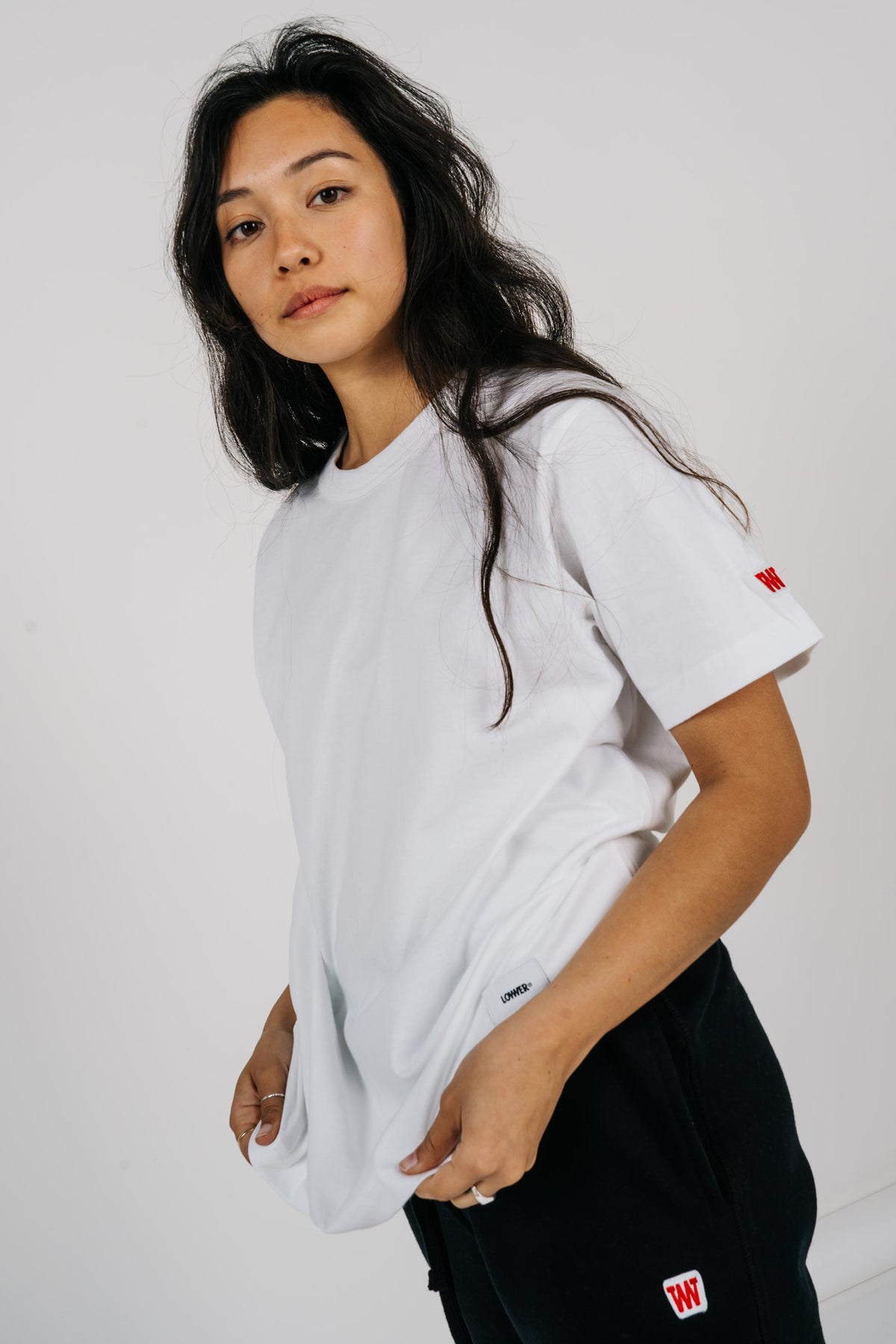 Womens Channel Tee - White