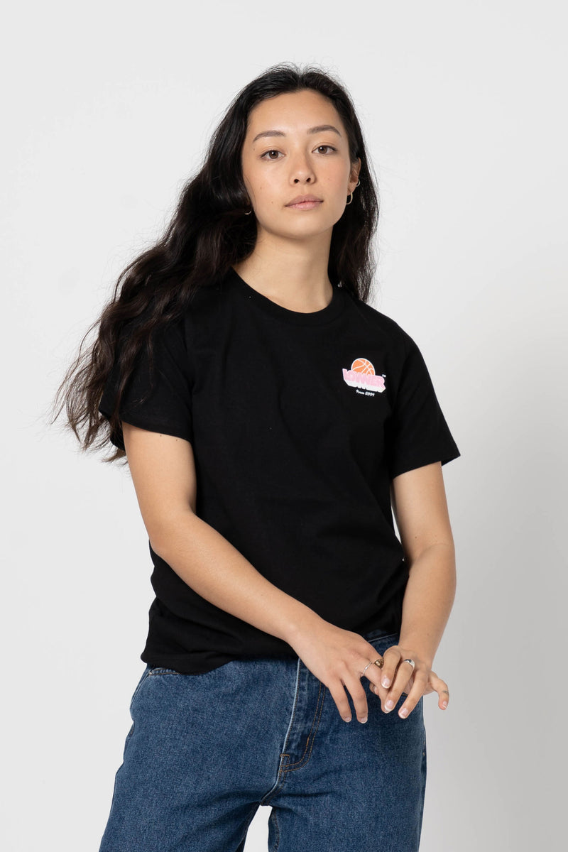 Womens Active Tee - Lexington - Black