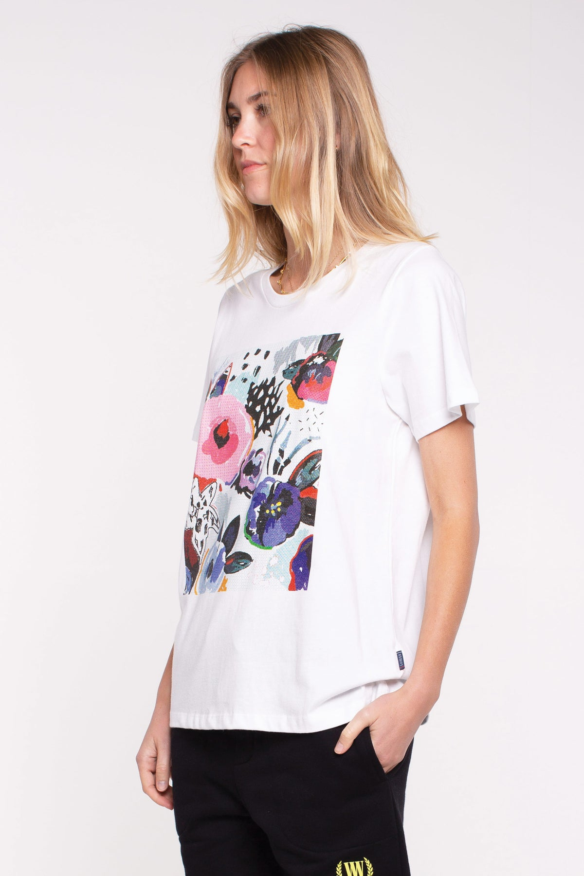 Collage - Active Tee - White