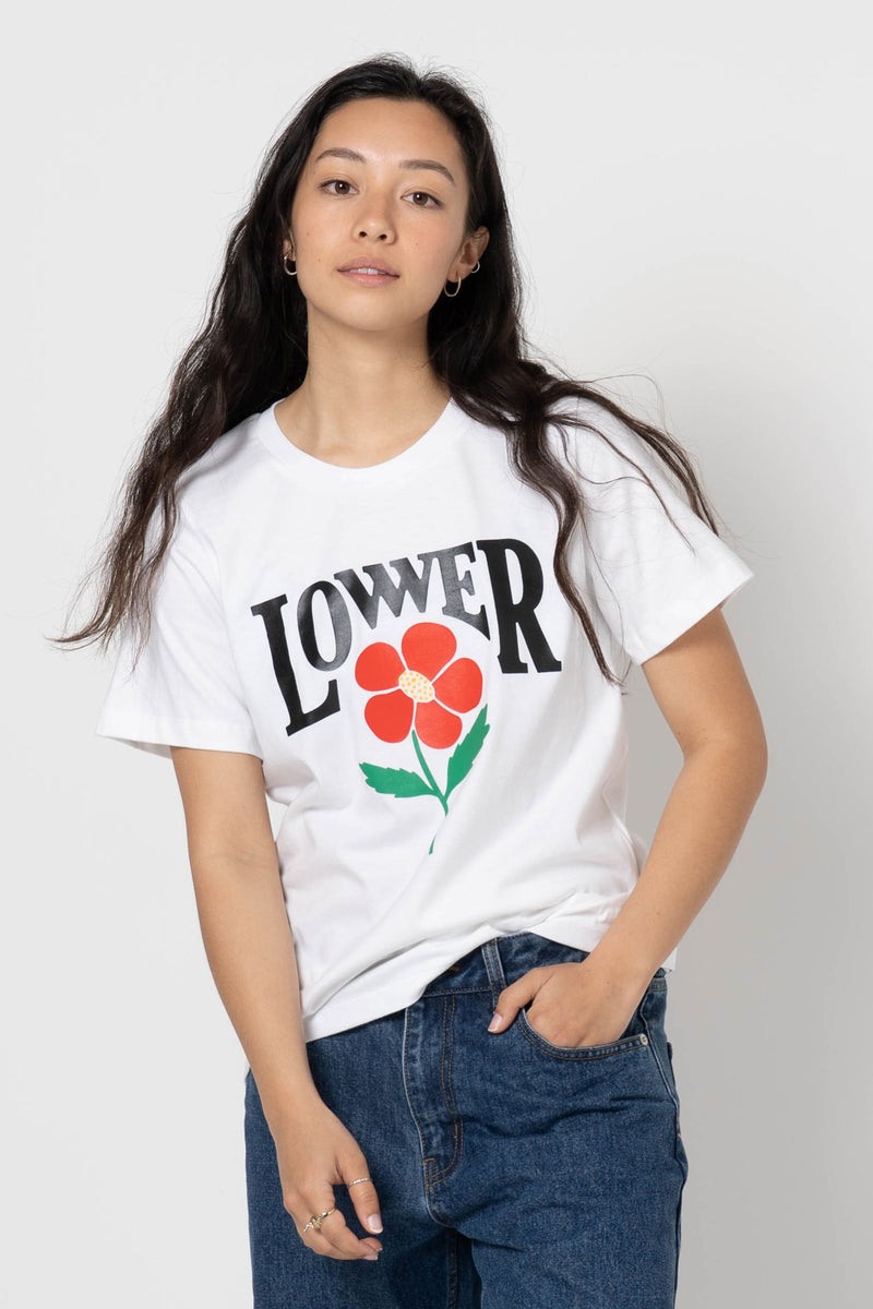 Womens Active Tee - Spring - White