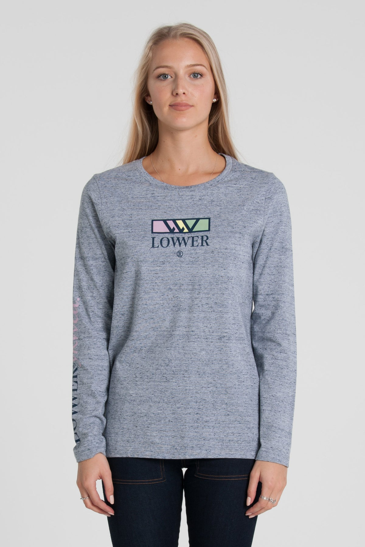 Adventure Club Relax Long Sleeve - Grey Marle