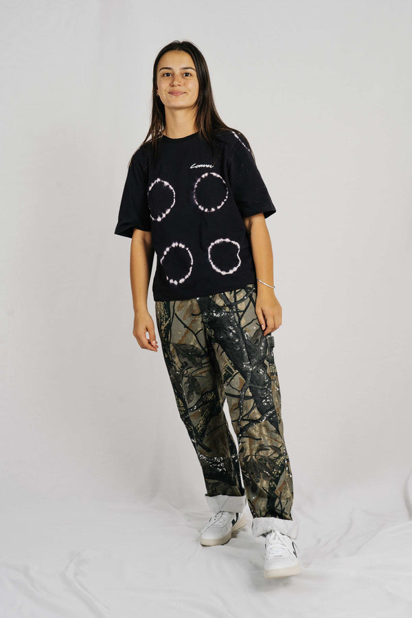 Area Tee - Carpenter - Black Tye Dye