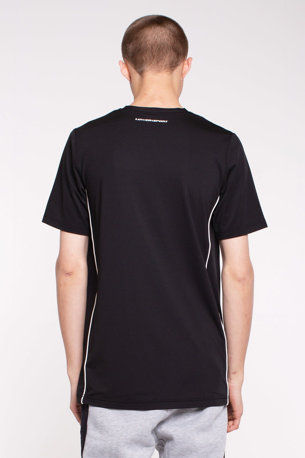 Hurdle Side Panel Tee - Black