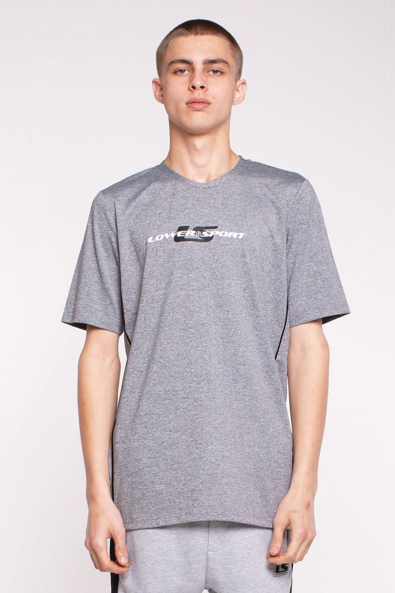 Action Side Panel Tee - Grey