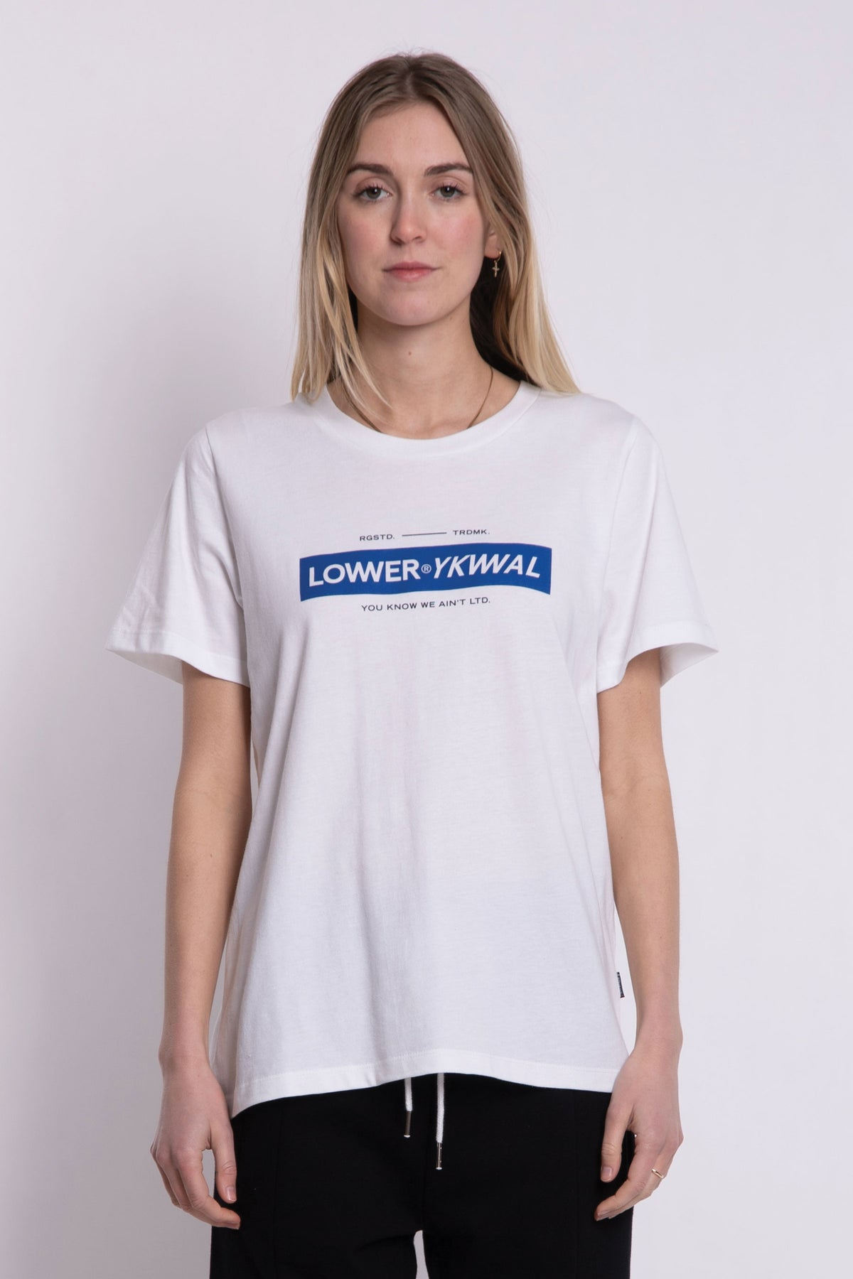 Logo Active Tee - White