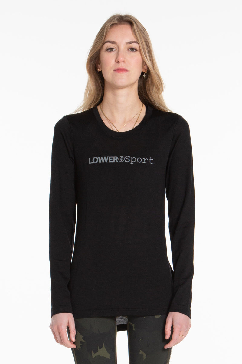 Base Ls Merino - Black