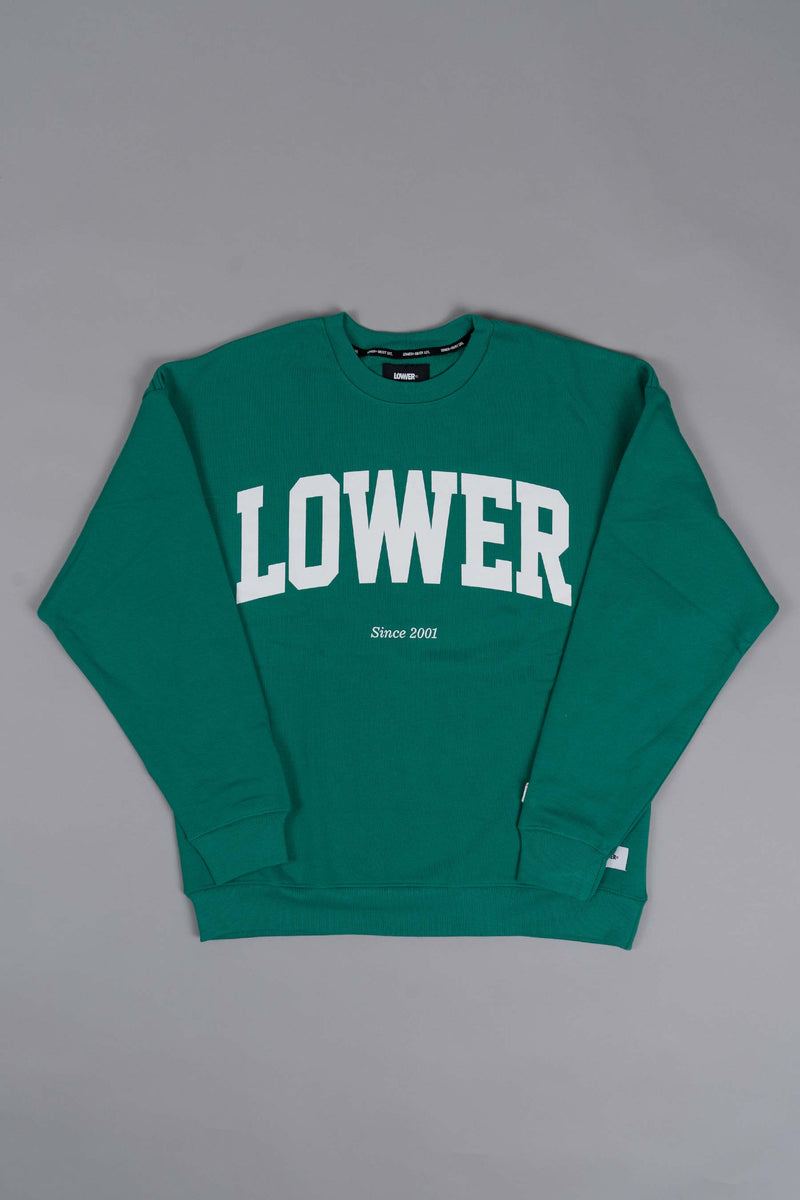 BD Crew (Unisex Heavyweight Organic Cotton) - Since '01 - Parakeet Green