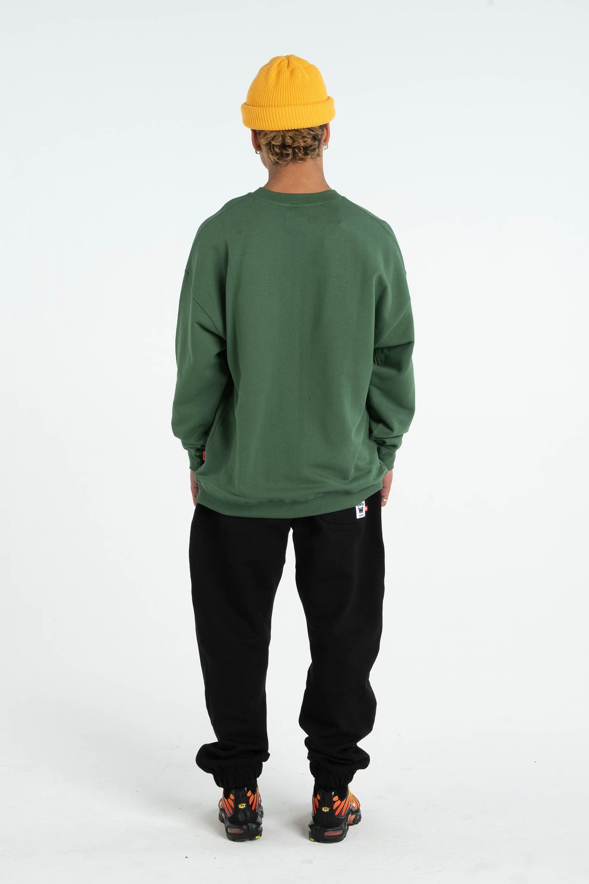 Mens BD Crew - Applebox - Green