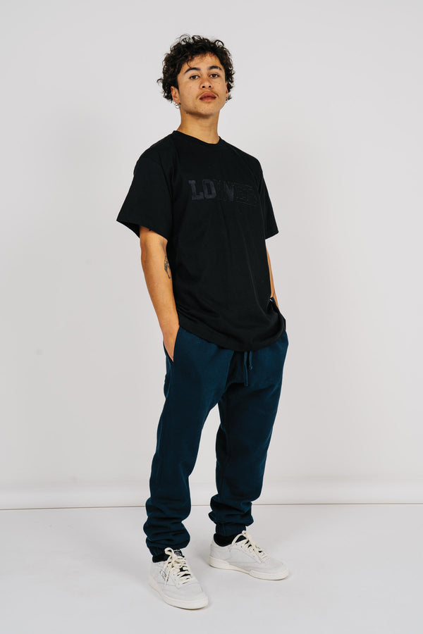 Mens Block Tee - Berkley - Black
