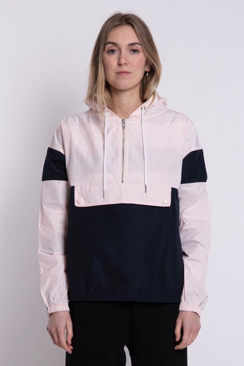 Billy Windbreaker - Navy/Pink