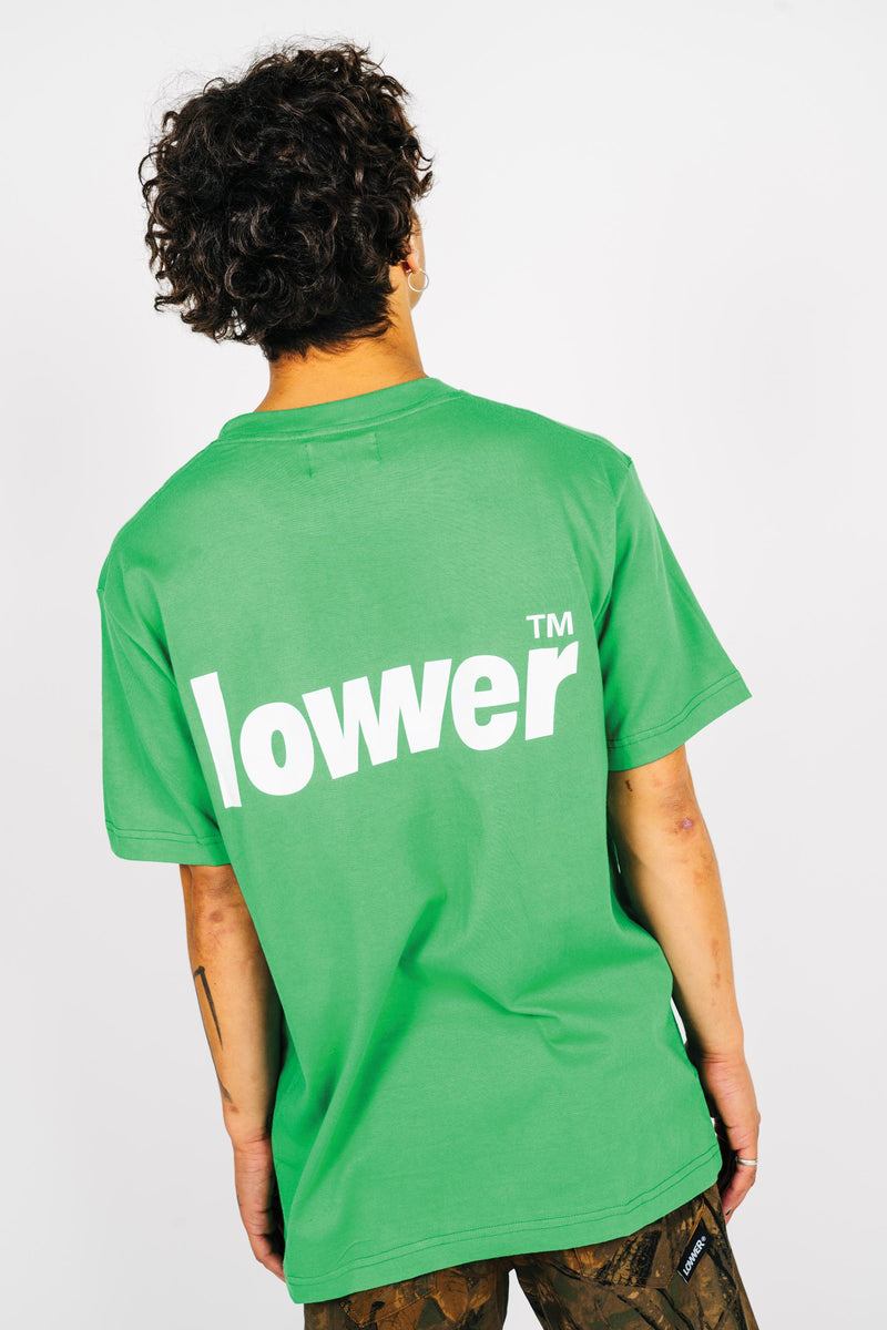 Mens Standard Tee - Low Lock - Kelly Green