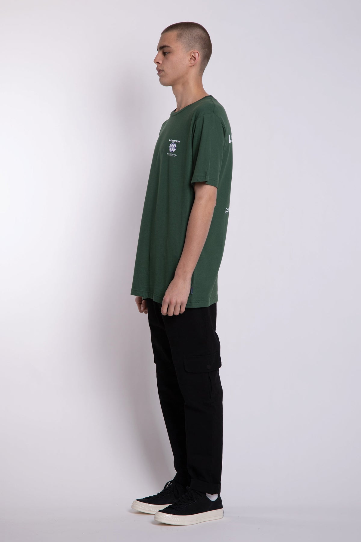 Blicky QRS Tee - Green