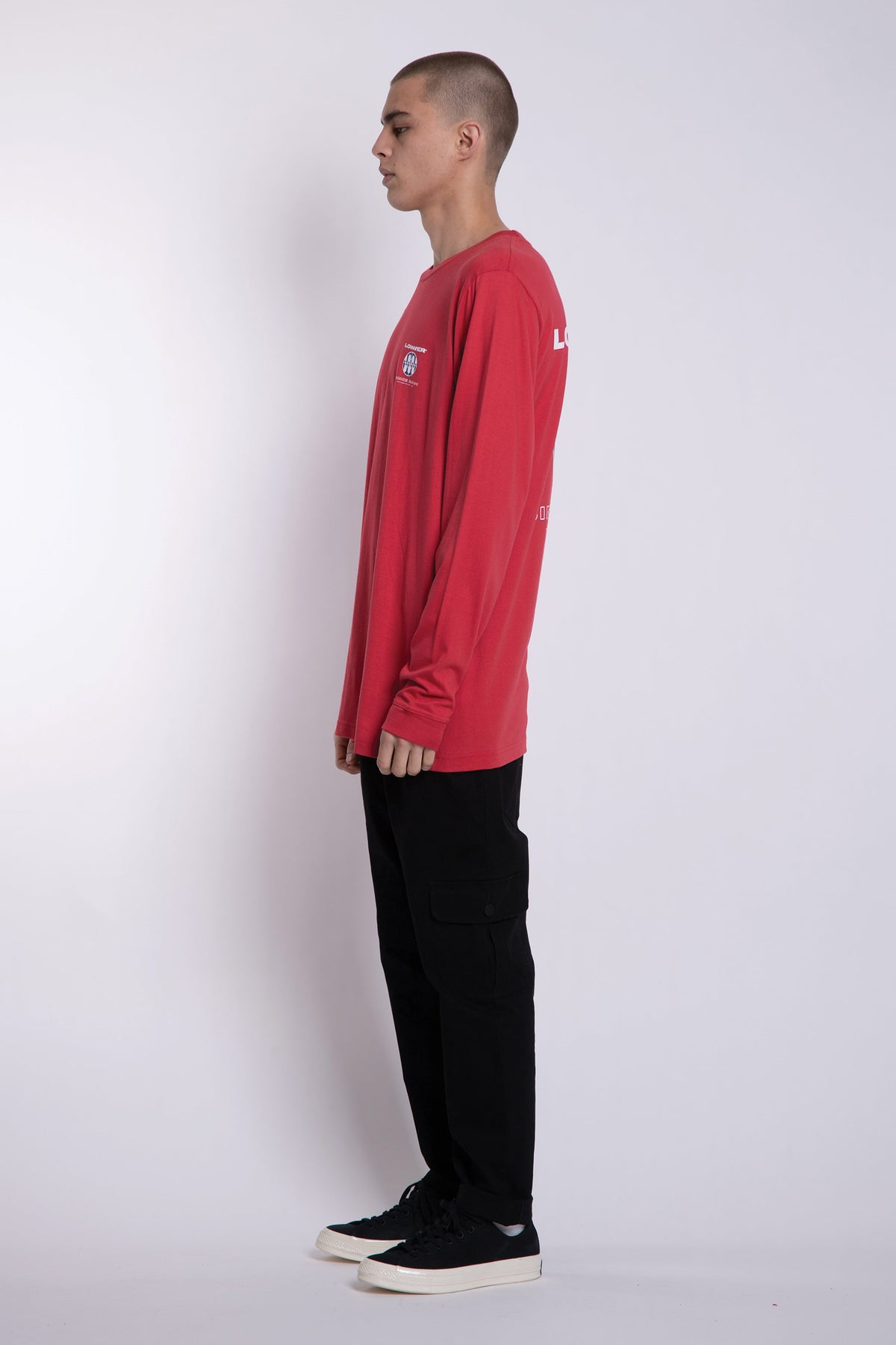 Blicky QRS LS Tee - Red
