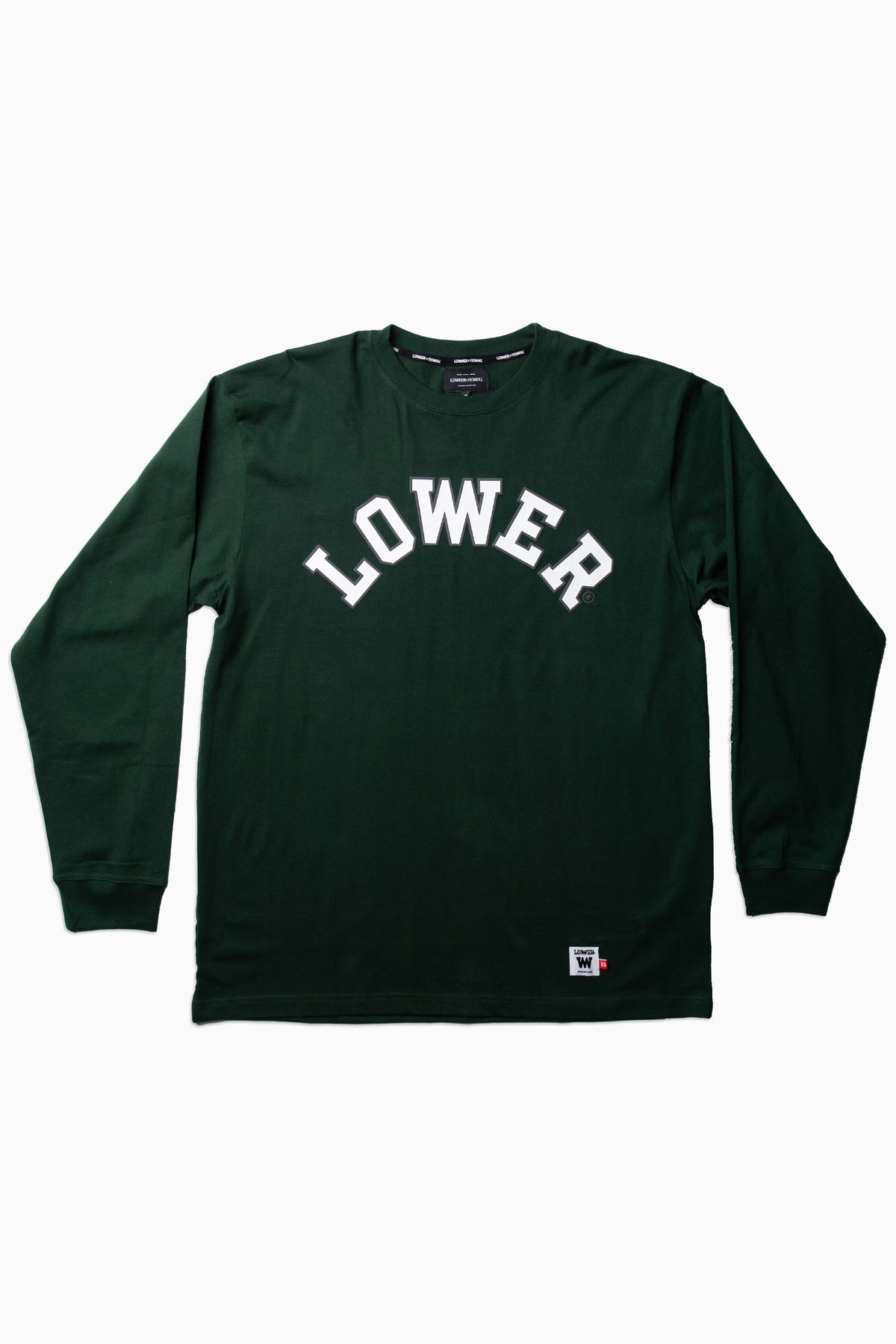 Mens Block LS Tee - Champ - Green