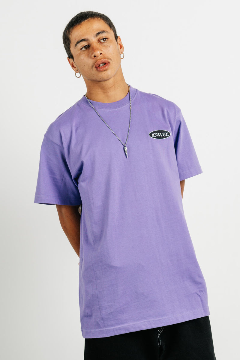 Block Tee - Apple - Violet