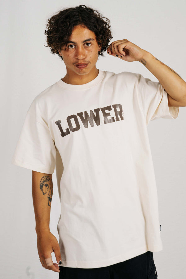 Block Tee - Berkley - Cream