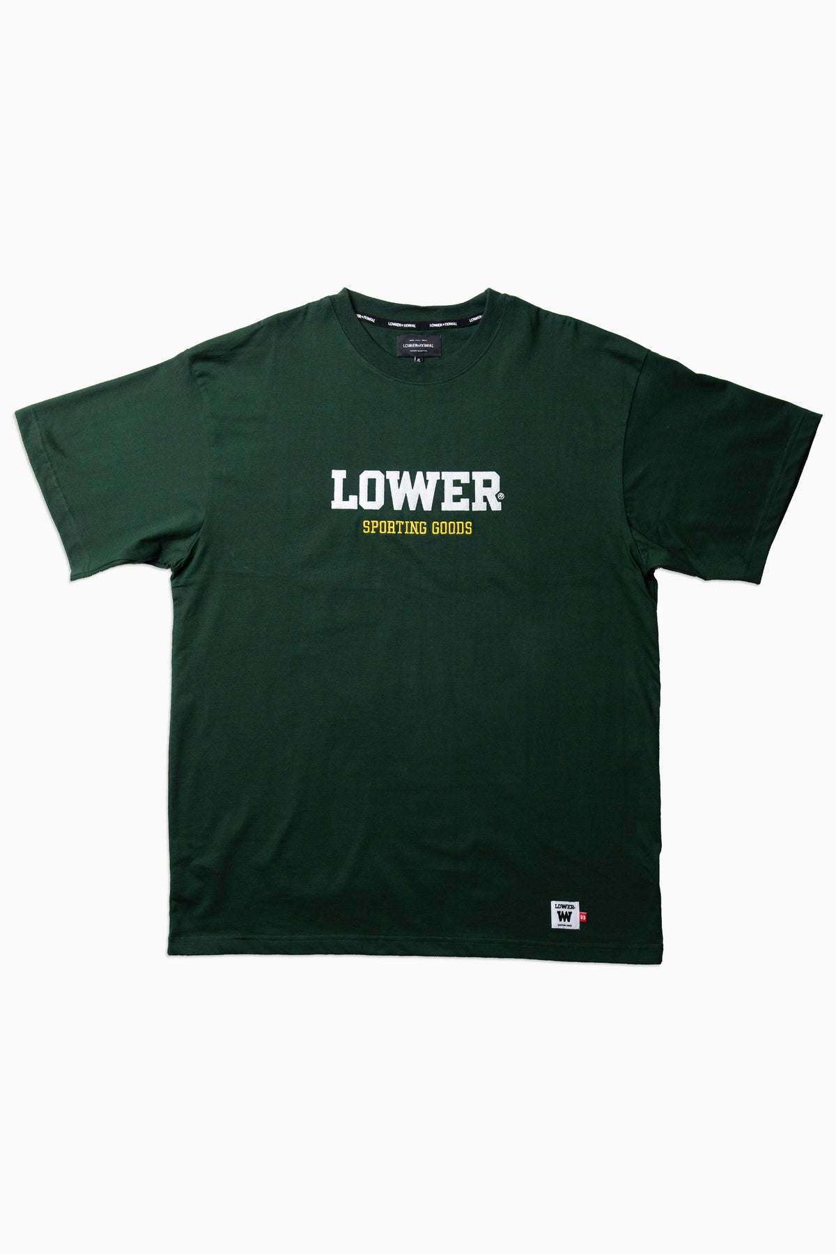 Mens Block Tee - Iron Man - Green