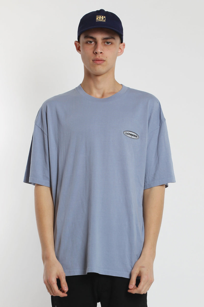 Enron Box Tee - Blue
