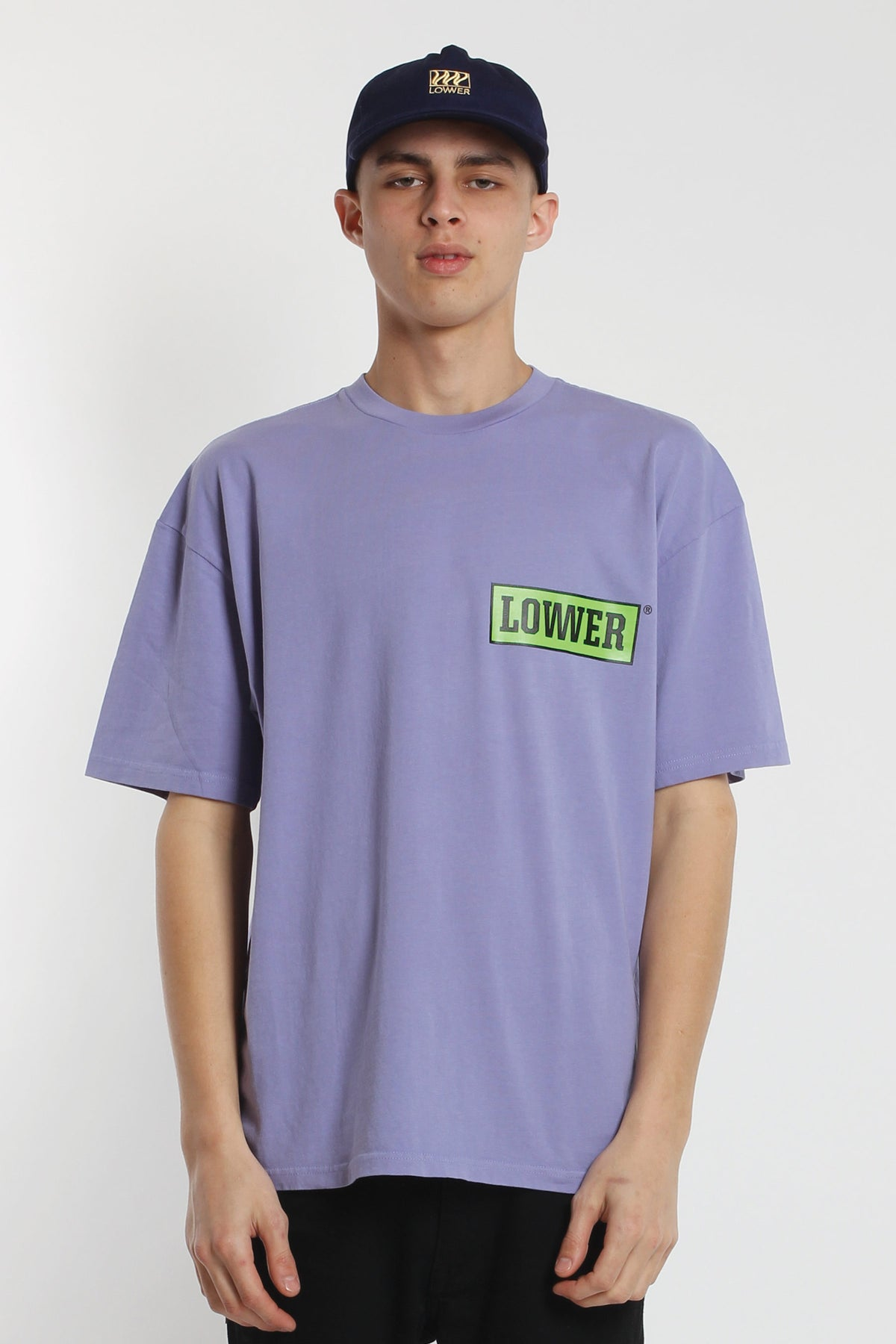 All Timer Box Tee - Purple