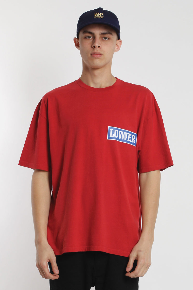 All Timer Box Tee - Red