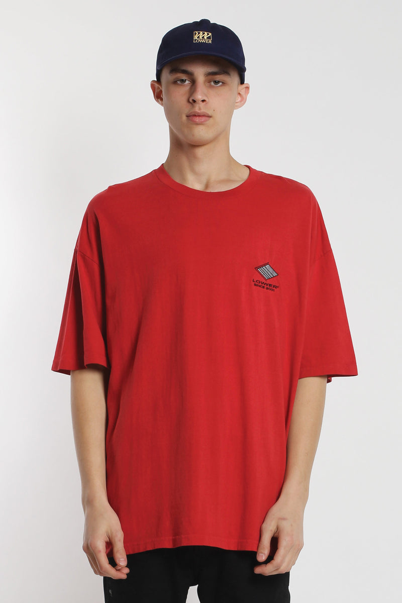Squad Box Tee - Red