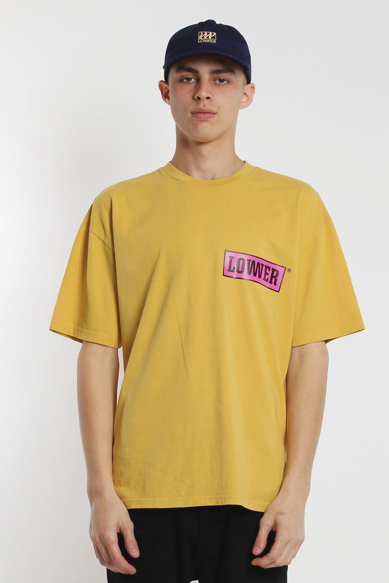 All Timer Box Tee - Yellow