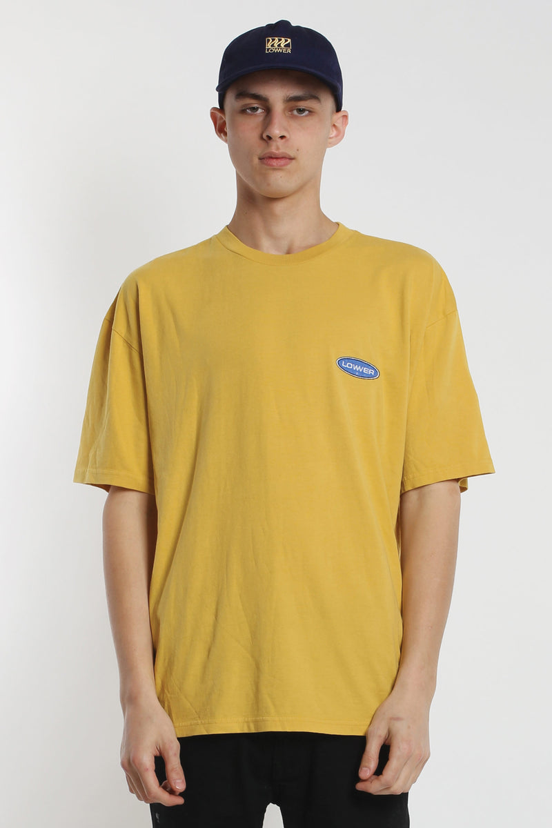 Enron Box Tee - Yellow