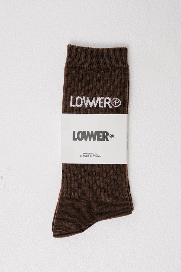Easy Sock - Enjoy Life - Brown