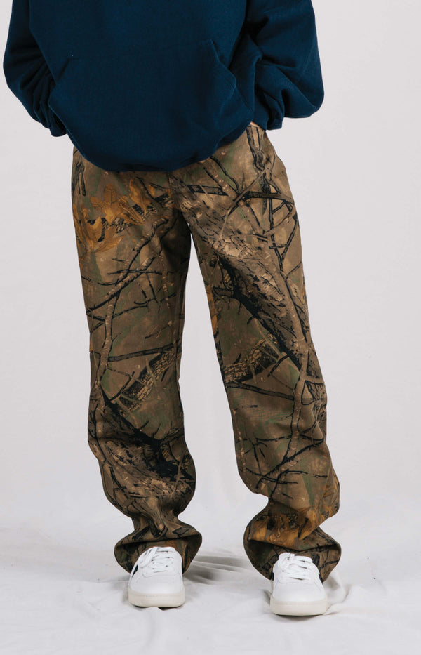 D-Carpenter Pant - Brown Bush Camo