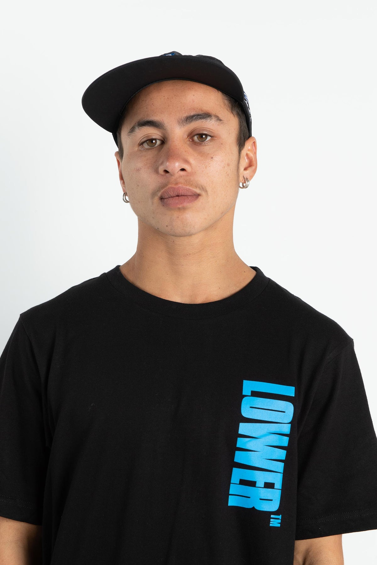 Mens QRS Tee - Bel Air - Black
