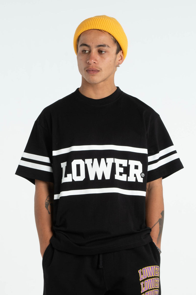 Mens Block Tee - Ruckus - Black