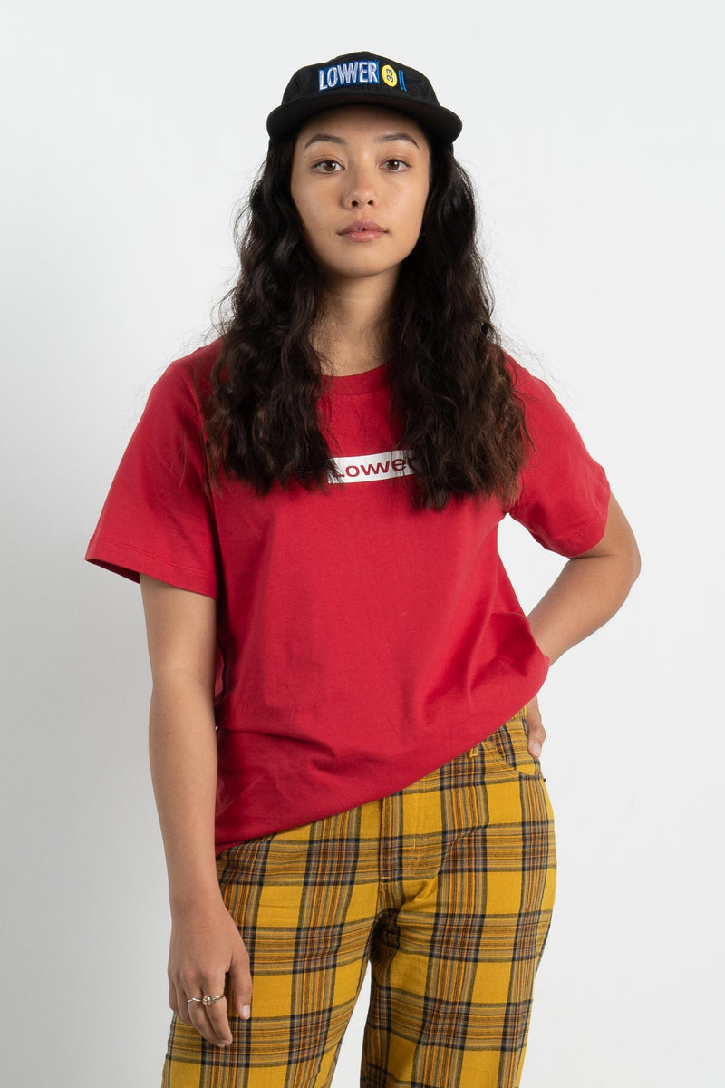 Womens Active Tee - Boxed - Red