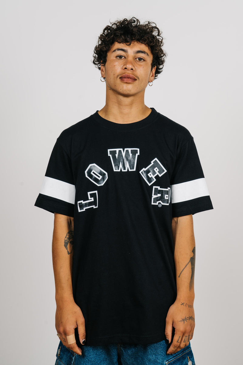 Standard Tee - Halfcourt - Black/White