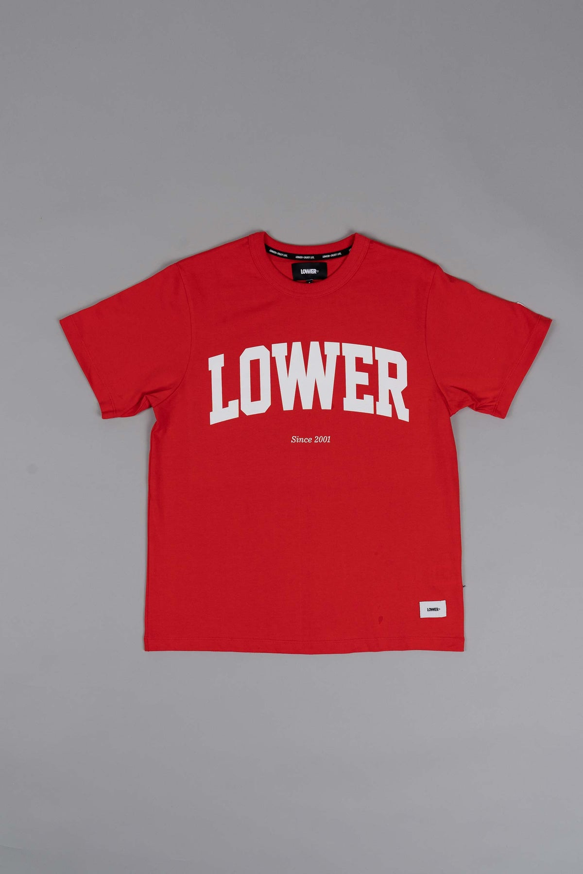 Channel Tee (Heavyweight Organic Cotton) - Since '01 - Fiesta Red