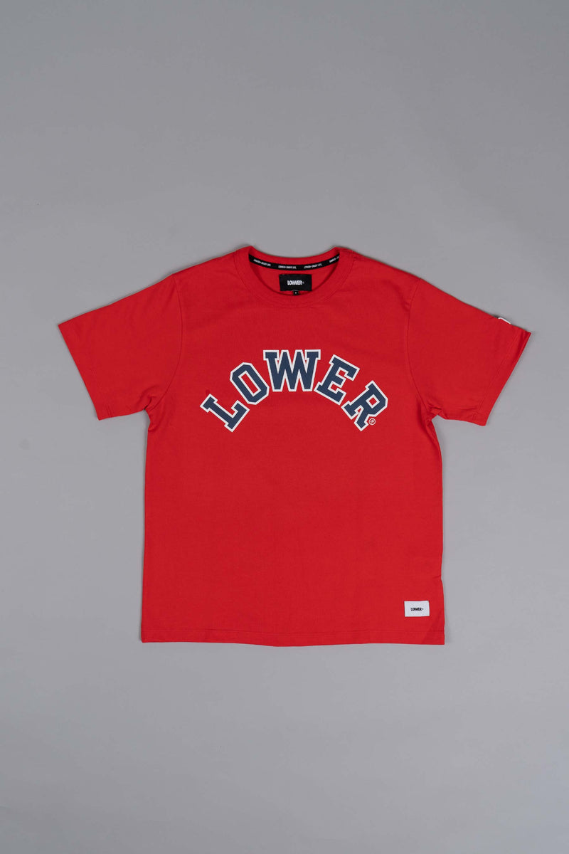 Channel Tee (Heavyweight Organic Cotton) - Champ - Fiesta Red