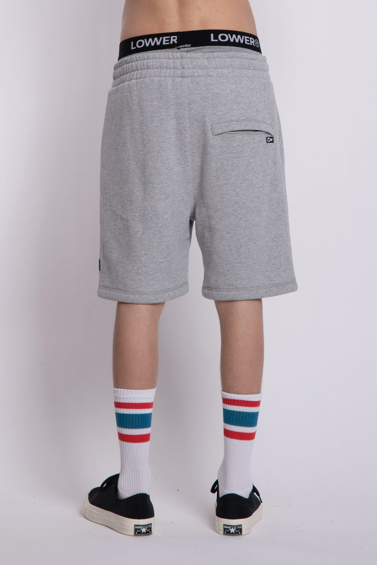 Chill Shorts - Silver Marle