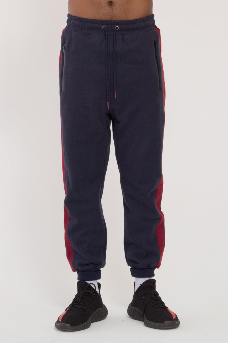 Cruiser Trackpants - Navy/Red