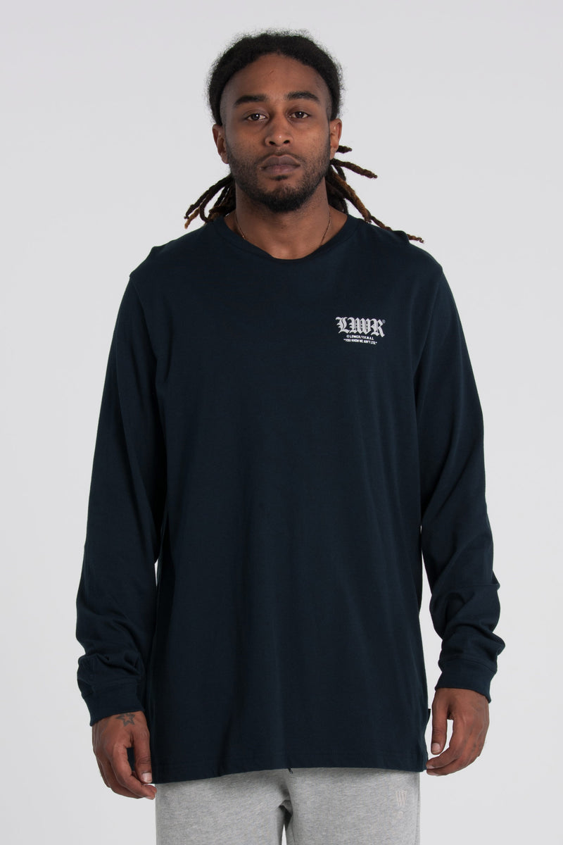 Crusader QRS Long Sleeve Tee - Navy