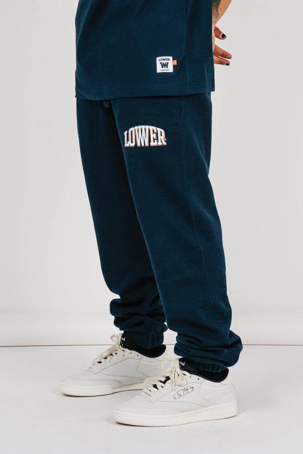 Heavy Track Pant - Curvelow - Navy