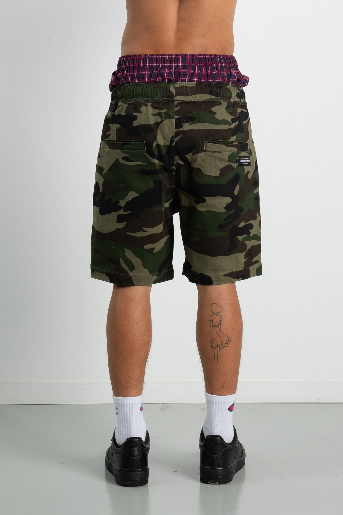 Mens Wood Shorts - Camo