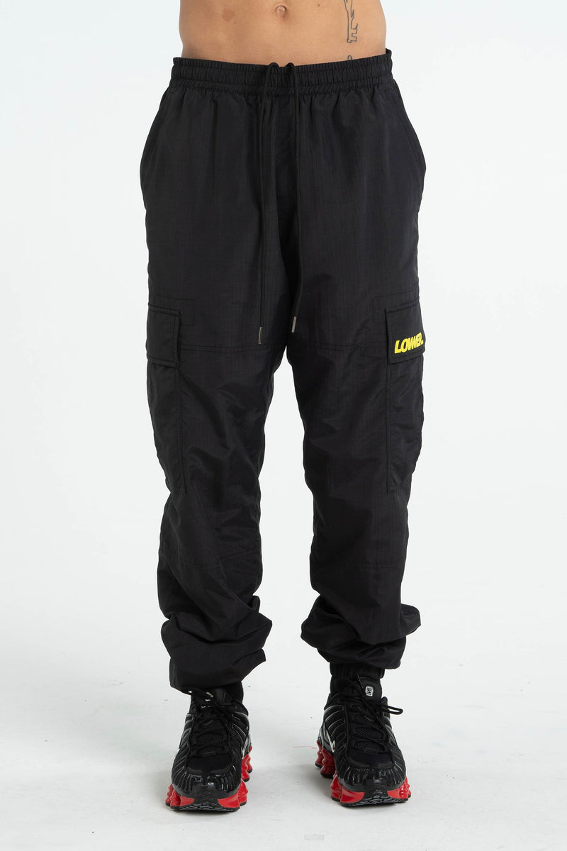 Cassell Nylon Pants (Unisex) - Black