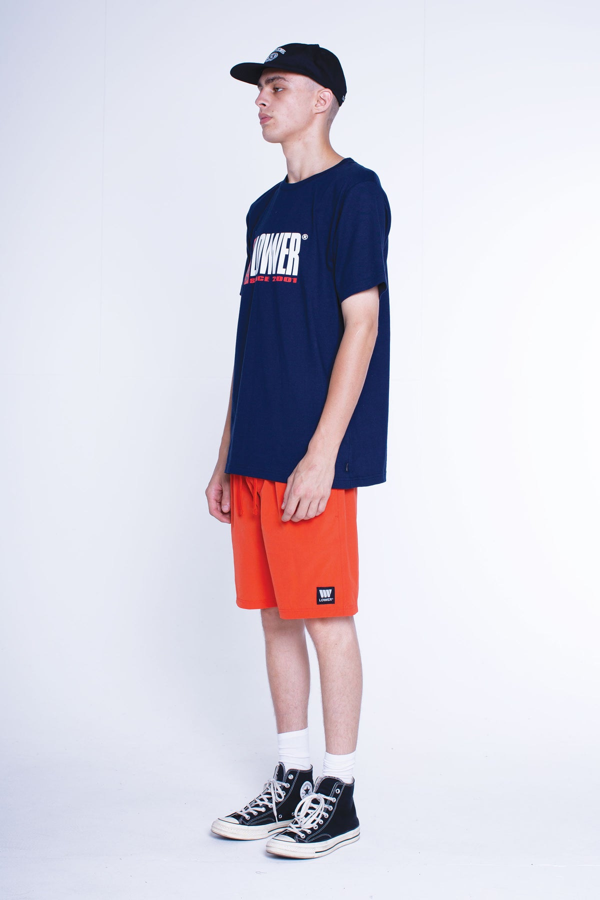 Mens QRS Tee - Challenger - Navy